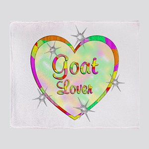 Goat Lover Throw Blanket