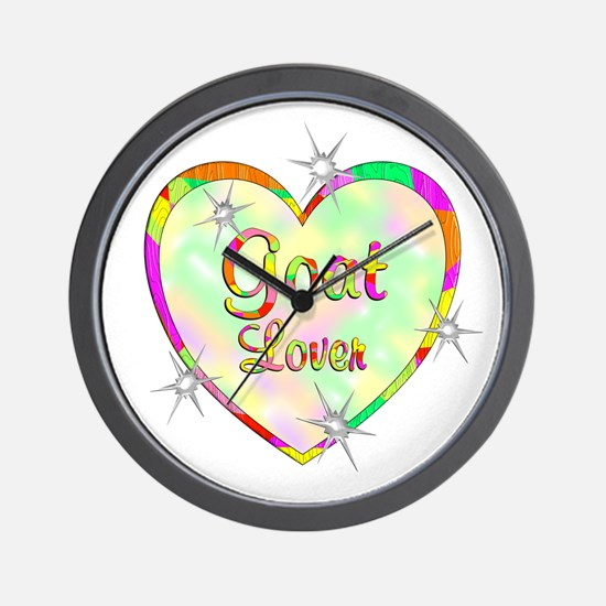 Goat Lover Wall Clock