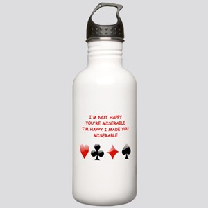 card player Water Bottle