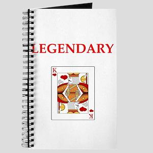 card player Journal