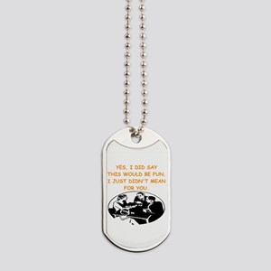 card player Dog Tags