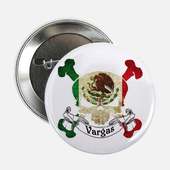 """Vargas Skull 2.25"""" Button"""
