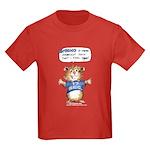 Cartoon Hamster Kids Dark T-Shirt