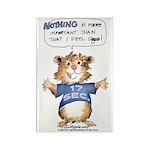 Cartoon Hamster Rectangle Magnet (100 pack)
