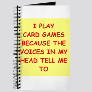 card games Journal