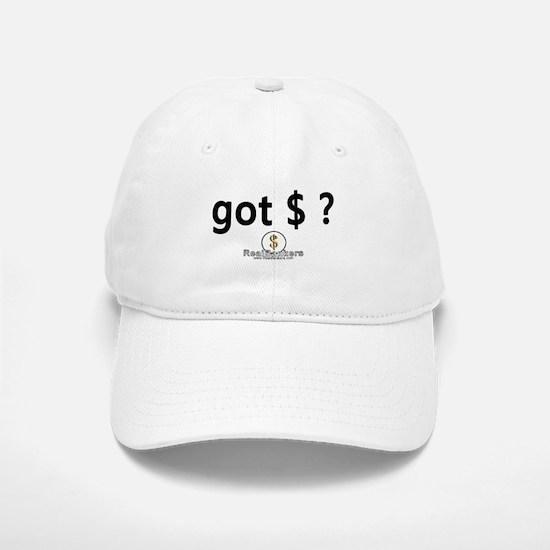 Got Money? Logo Baseball Baseball Cap