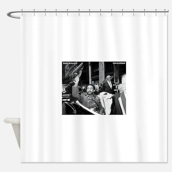 Selassie NY Parade Shower Curtain