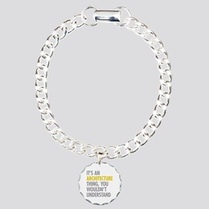 Its An Architecture Thin Charm Bracelet, One Charm