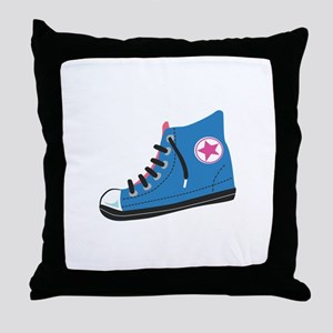 Athletic Shoe Converse Throw Pillow