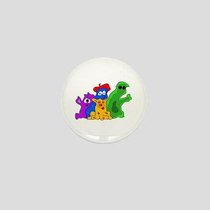 Germ Family Photo Mini Button
