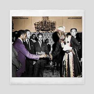 Selassie Meeting Queen Duvet