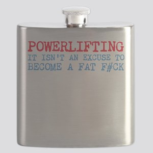 Powerlifting Powerlifter Flask