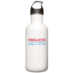 Powerlifting Powerlifter Water Bottle