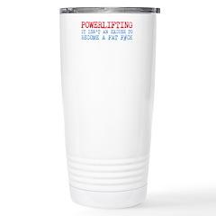 Powerlifting Powerlifter Travel Mug