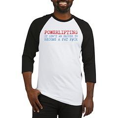 Powerlifting Powerlifter Baseball Jersey
