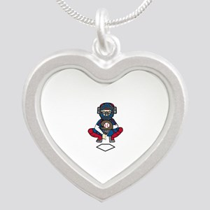 Baseball Catcher Necklaces