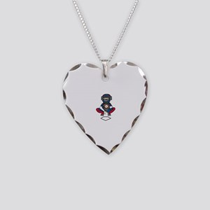 Baseball Catcher Necklace