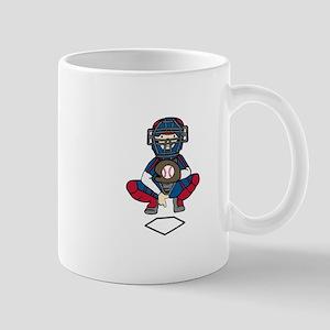Baseball Catcher Mugs