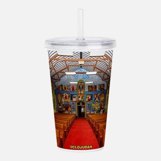 Ethiopian Orthodox Church Acrylic Double-wall Tumb