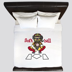 Catch Softball King Duvet