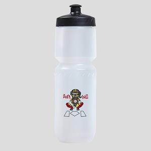 Catch Softball Sports Bottle