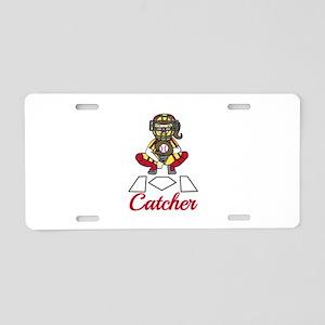 Catcher Aluminum License Plate