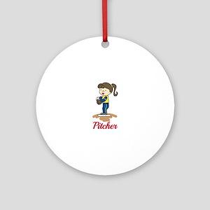 Pitcher Ornament (Round)