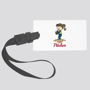 Pitcher Luggage Tag