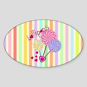 Lollipop Love Sticker