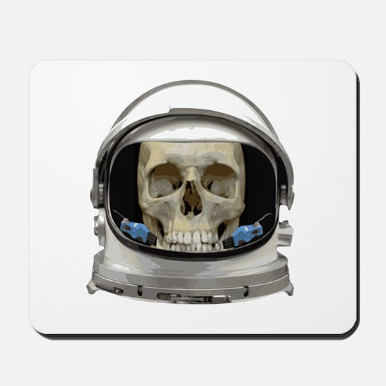 Space Helmet Astronaut Skull Mousepad
