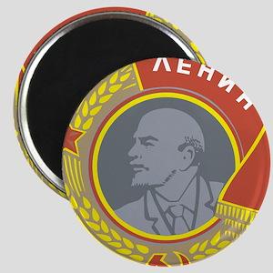 V Lenin Magnet