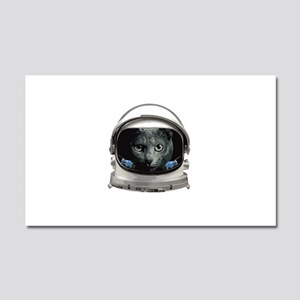 Space Helmet Astronaut Cat Car Magnet 20 x 12