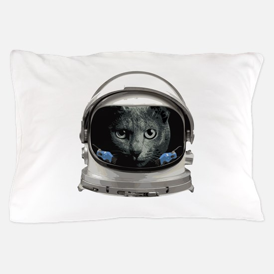 Space Helmet Astronaut Cat Pillow Case