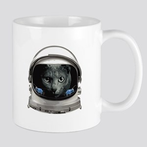 Space Helmet Astronaut Cat Mugs