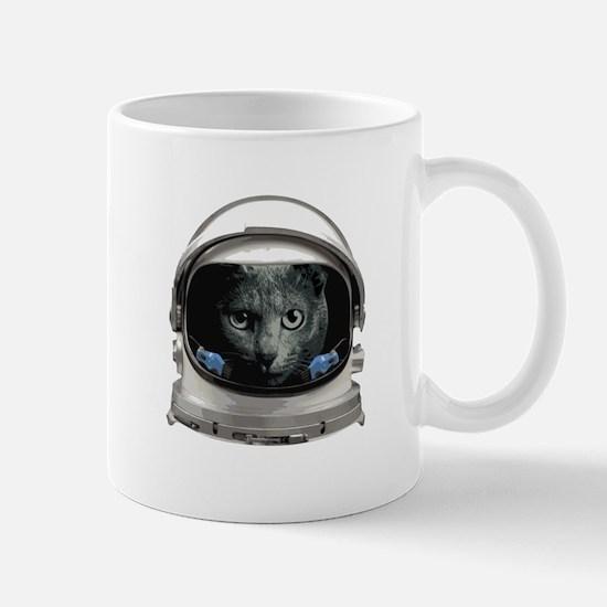 Space Helmet Astronaut Cat Mugs