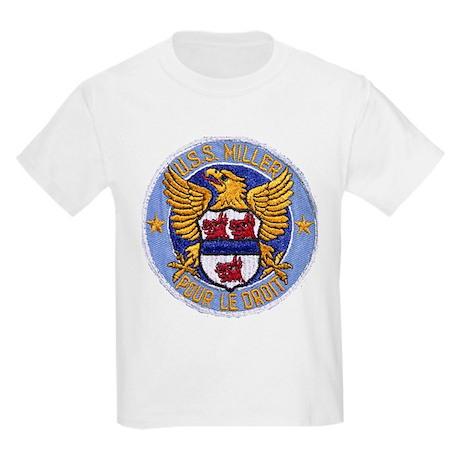 USS MILLER Kids Light T-Shirt