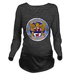 USS MILLER Long Sleeve Maternity T-Shirt