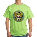 USS MILLER Green T-Shirt