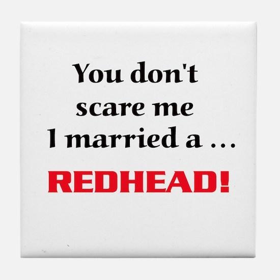 Cute Red hair Tile Coaster