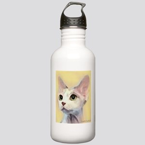 Devon Rex Cat Water Bottle