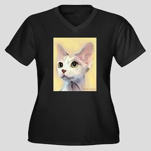 Devon Rex Cat Plus Size T-Shirt