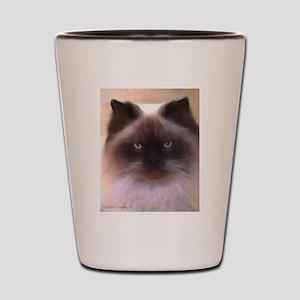 Himalayan Cat Shot Glass