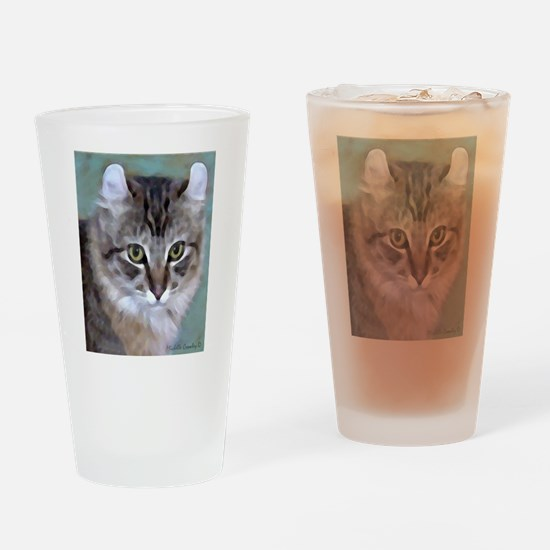 American Curl Cat Drinking Glass