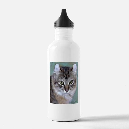 American Curl Cat Water Bottle