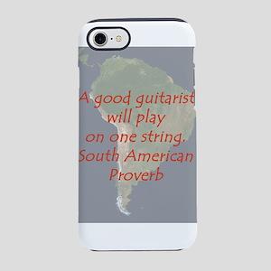 A Good Guitarist iPhone 7 Tough Case