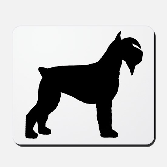 Schnauzer Dog Mousepad