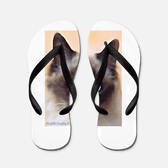 Ragdoll Cat Flip Flops