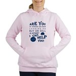 Realtor's Parade Logo Women's Hooded Sweatshirt