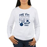 Realtor's Parade Logo Women's Long Sleeve T-Shirt