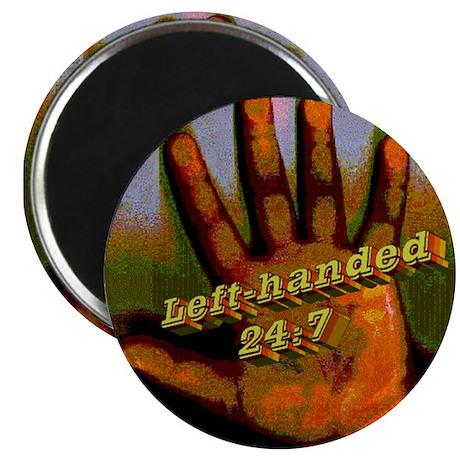 """Left-handed 24:7 2.25"""" Magnet (100 pack)"""